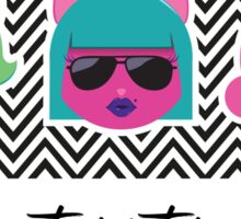 Tres Gatas Sticker