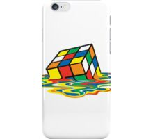 Rubik cube art iPhone Case/Skin