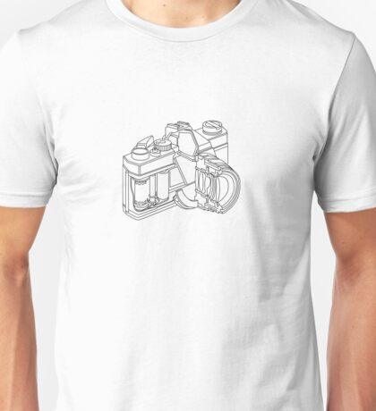 Camera disection  Unisex T-Shirt