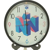 Nintendo Clock Photographic Print