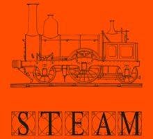 Steam Train Kids Tee