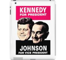KENNEDY/JOHNSON iPad Case/Skin