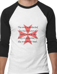 Templar Cross Men's Baseball ¾ T-Shirt