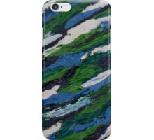 Oil Abstract 2 iPhone Case/Skin
