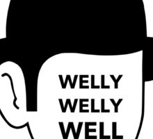 Welly Welly Well! Sticker