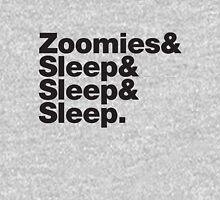 Greyhounds - Zoomies & Sleep & Sleep & Sleep Unisex T-Shirt