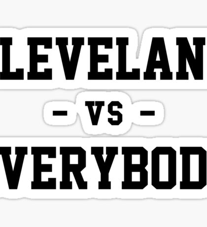 Cleveland vs Everybody Sticker