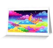 Goodnight, Kirby! Greeting Card