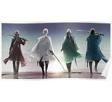 The Four Swordsmen - Gintama Poster