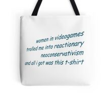 women in videogames Tote Bag