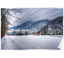 Bludenz (Vorarlberg, Austria) Poster