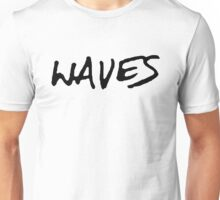 Waves [Black] Unisex T-Shirt