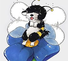 Havanese Bumble Bee by zeepgreen