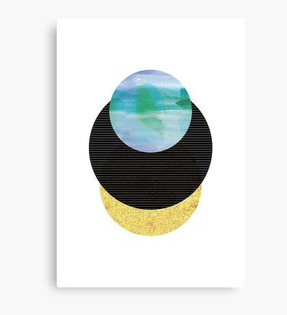 Underwater Sunset Canvas Print