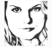 Emma Swan Black and White Baby Tee