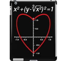 Love (Heart) Equation Valentine's Day iPad Case/Skin