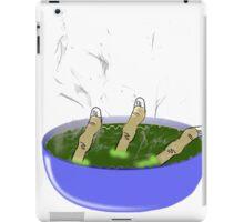 Finger Soup. iPad Case/Skin
