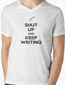 Keep Writing #1 Mens V-Neck T-Shirt