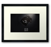 Gnar of Thrones Framed Print