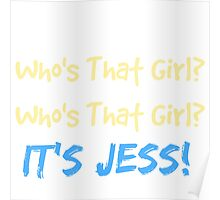 Who's That Girl? It's Jess! New Girl Poster