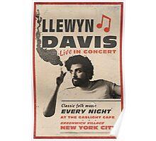 Llewyn Davis Live in Concert Poster