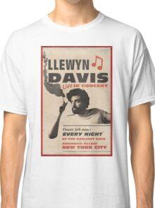 Llewyn Davis Live in Concert Classic T-Shirt