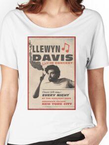 Llewyn Davis Live in Concert Women's Relaxed Fit T-Shirt