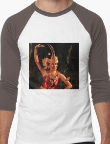 Balinese dancer Men's Baseball ¾ T-Shirt