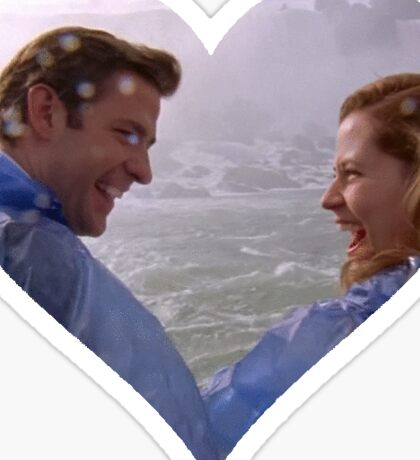 Jim and Pam-Niagara Sticker
