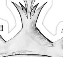 Queen's Crown - Watercolor Queen / Empress / Princess Crown Design Sticker