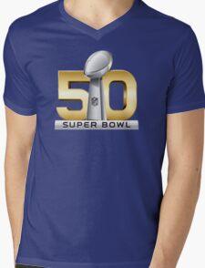 Super Bowl 50 - February 7th, 2016 Mens V-Neck T-Shirt