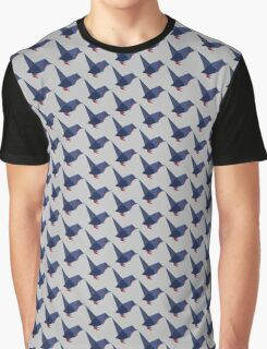 ORIGAMI BIRD VECTOR Graphic T-Shirt
