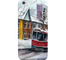 The Red Rocket, Toronto iPhone Case/Skin