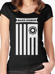 RL9 - Bass Donor Special Collaboration Tshirt Women's Fitted Scoop T-Shirt