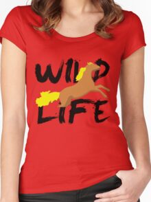 WILD Life Women's Fitted Scoop T-Shirt