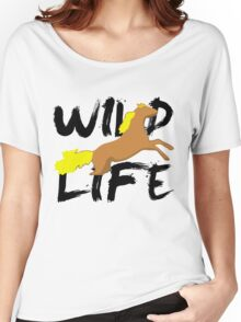 WILD Life Women's Relaxed Fit T-Shirt