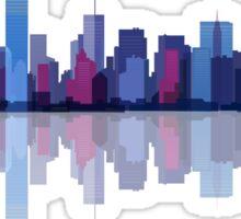 New york city landscape. Ny. Manhattan Sticker