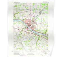New York NY Amsterdam 136624 1954 24000 Poster