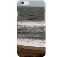 A Guy and His Surfboard iPhone Case/Skin