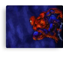 Spiderman Abstract Watercolour Super Hero Canvas Print