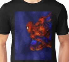 Spiderman Abstract Watercolour Super Hero Unisex T-Shirt