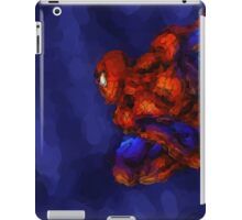 Spiderman Abstract Watercolour Super Hero iPad Case/Skin
