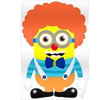 Minion circus clown Poster