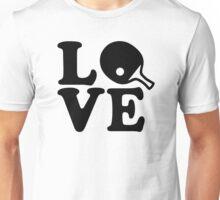 Ping Pong love Unisex T-Shirt
