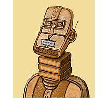 Moderne Robot   Photographic Print