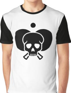 Ping Pong skull Graphic T-Shirt