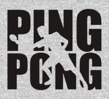 Ping Pong One Piece - Long Sleeve