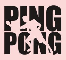 Ping Pong One Piece - Short Sleeve