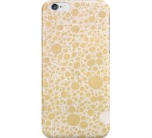 Gold Bubbles iPhone Case/Skin