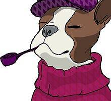 Tough Boston Terrier Girl by OgityBogityBoo